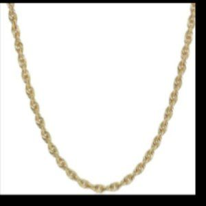 GLITTER CHAIN 10K GOLD NECKLACE